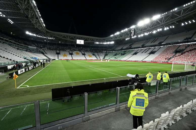 A month into lockdown, Serie A torn over return to action. AFP