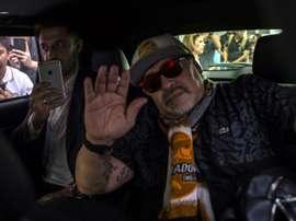 Diego Maradona mexico. AFP