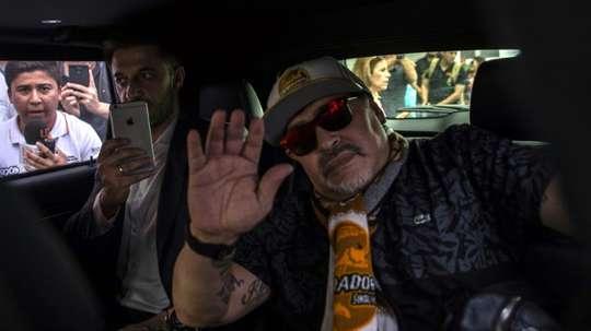 L'Argentin sera présenté lundi. AFP
