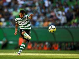 Bruno Fernandes especulado na Premier League. AFP