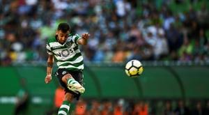 Bruno Fernandes fue uno de los goleadores del Sporting de Lisboa. AFP