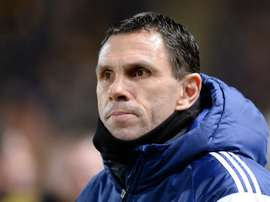Gus Poyet hinted he could quit after Shanghai Shenhua lost 3-0 at home in the CSL. AFP