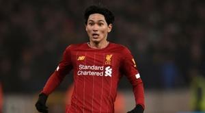 Le formazioni ufficiali di Liverpool-Midtjylland. AFP