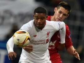 Jordon Ibe tiene las horas contadas en el Liverpool. AFP