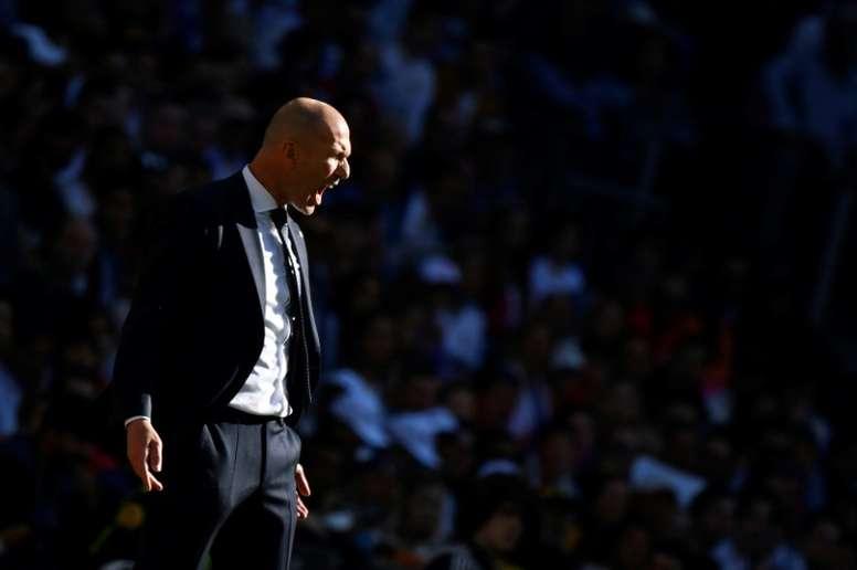Zidane explicó el porqué de sus cambios. AFP