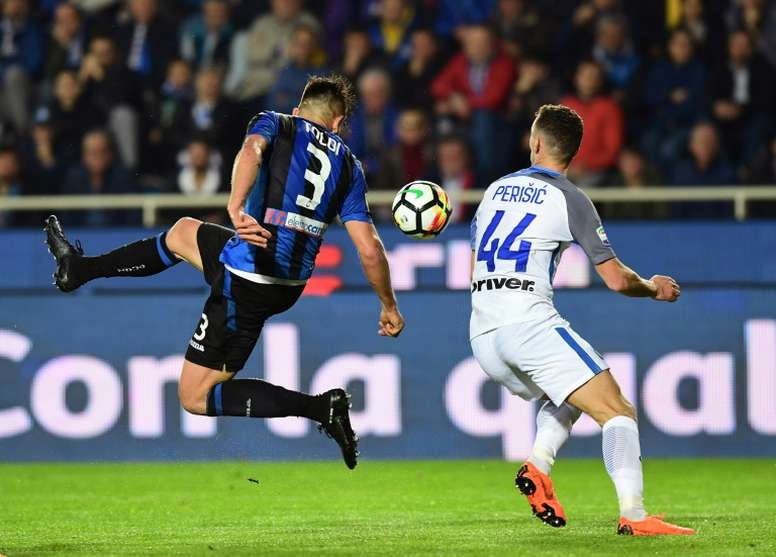 Inter Milan were held to a goalless draw at Atalanta. AFP