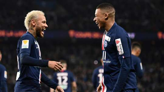 Herrera évoque l'avenir des deux stars du PSG. AFP