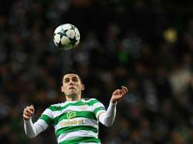 Rogic scored the opening goal for victors Celtic. AFP