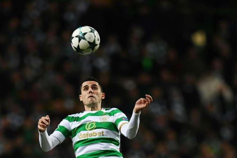 El Celtic también está cerca de ganar de nuevo la Premier. AFP