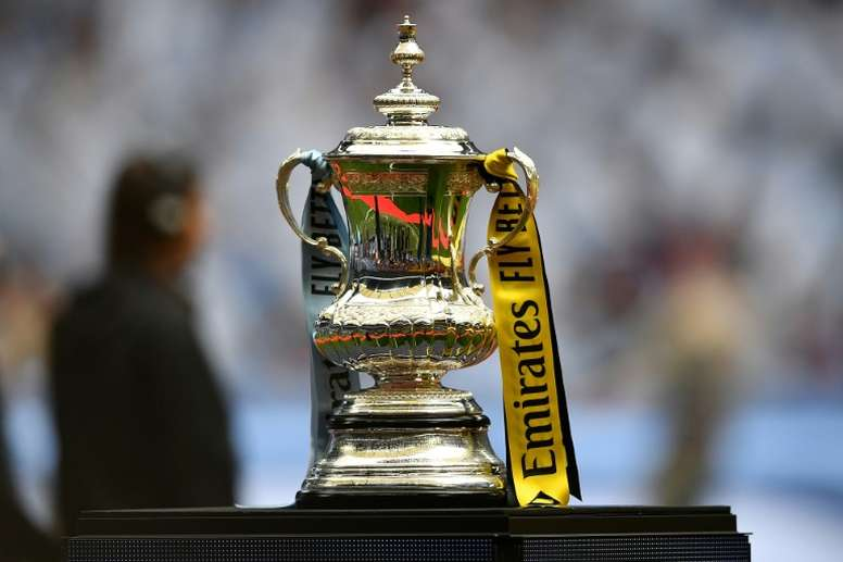 La final de la FA Cup podría trasladarse al mes de octubre. AFP