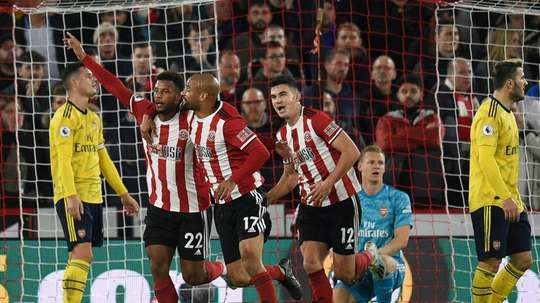 A famous night for the Blades. AFP