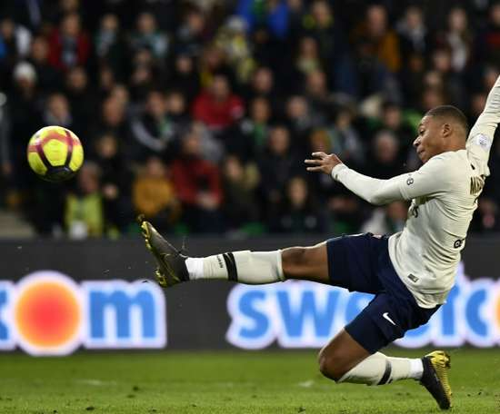 Mbappe continued his fine run of form with a 73rd-minute winner. AFP