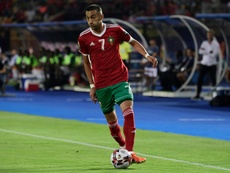 Ziyech is yet to find his club form at the AFCON. AFP