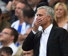 Jose Mourinho is under increading pressure at Man Utd. AFP
