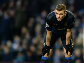 Bosnian striker Edin Dzeko, 29, has left Manchester City as a two-time Premier League winner, having also lifted the FA Cup and League Cup