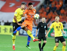 Evergrande reached the last 8 of the AFC Champions League. AFP