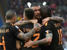 Roma beat Chievo 4-1. AFP