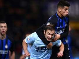 'San Siro Stadium' in Milan. AFP