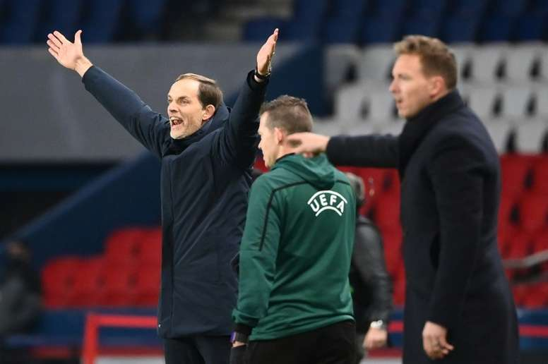 Tension gets to Tuchel at crunch point in season for PSG
