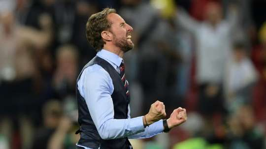 Southgate's team are in form. AFP