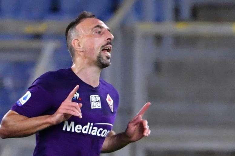 Burglary victim Ribery raises doubts over Italy future. AFP