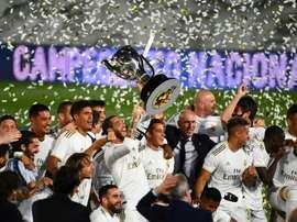 Le groupe du Real Madrid pour affronter la Real Sociedad en Liga. AFP