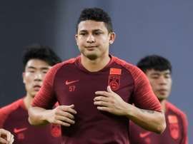 Elkeson double on debut as China thrash Maldives. AFP