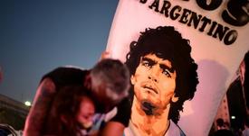 Vem aí na Amazon uma série sobre Maradona. AFP