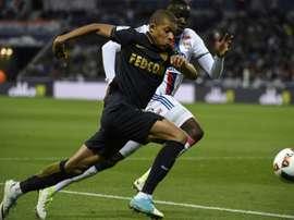 Monacos forward Kylian Mbappe Lottin