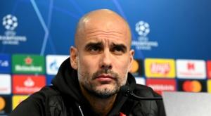 Guardiola compare le Barça et City.  AFP