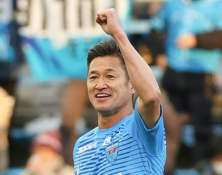International : Japon : Le plus vieux footballeur professionnel du monde prolonge