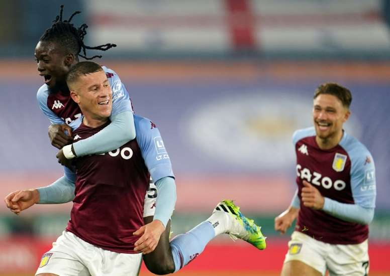 El Aston Villa, el único que ha ganado todos sus partidos. AFP