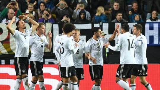 L'Allemagne veut donner une bonne image à l'UEFA. AFP