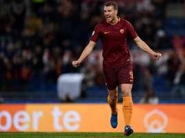 Romas forward Edin Dzeko