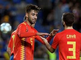 España derrotó por 1-0 a Bosnia. AFP