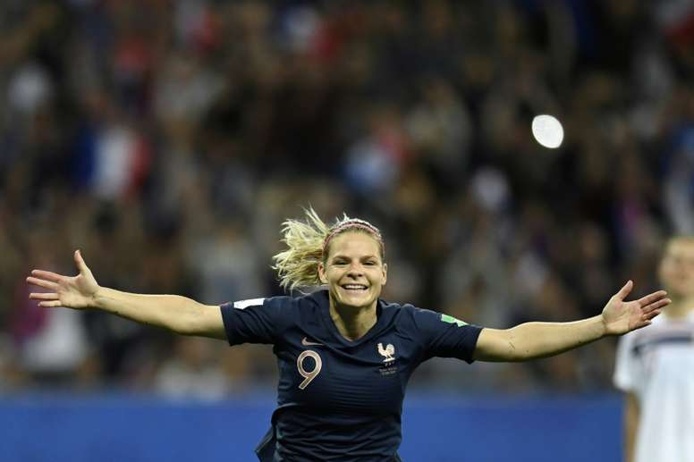Francia doblegó a Noruega por la mínima. AFP