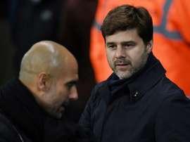 Guardiola es el mejor; Pochettino, séptimo. AFP