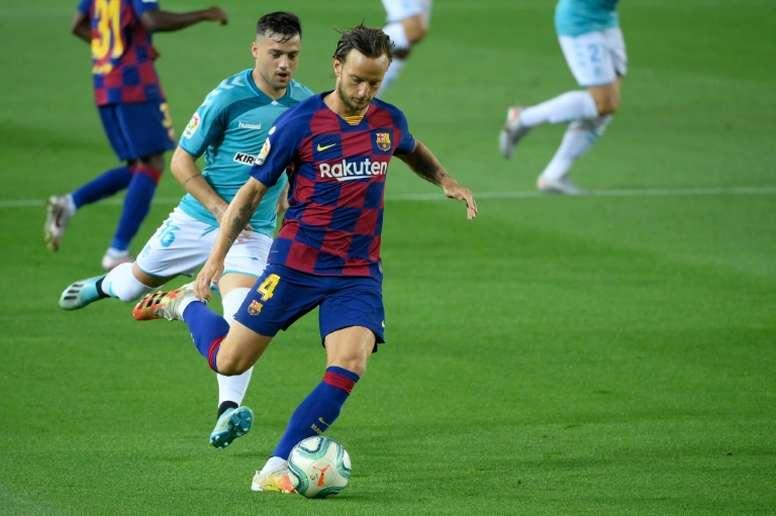 Sevilla re-sign Barcelona's Rakitic. AFP