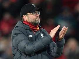 Klopp pode trocar o Liverpool pela Seleção Alemã. AFP