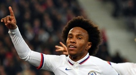 Willian, sur les tablettes du club catalan. AFP