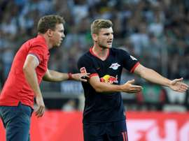 Nagelsmann sait que Werner veut partir. AFP