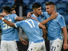 Lazio move third in Serie A as Roma fall in Parma. AFP