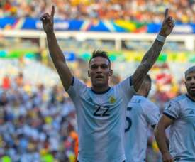 Argentina are through to the Copa America semi-finals against Brazil. AFP