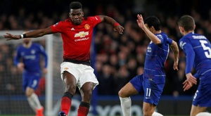 Manchester United v Chelsea will play each other in week one next season. AFP