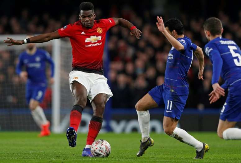 United-Chelsea, plato fuerte de la primera jornada de Premier 19-20. AFP