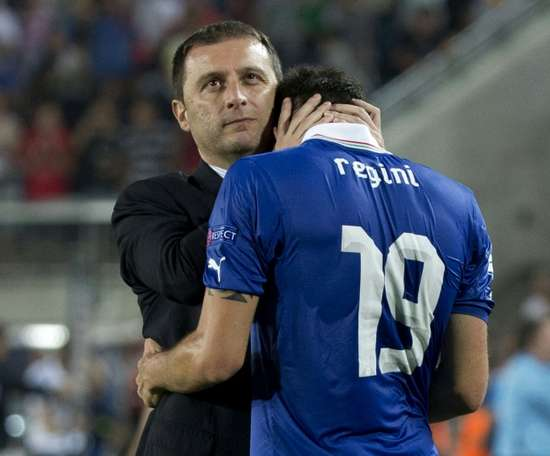 Mangia took Italy U21s to the final of the Euro U21 Championships back in 2013. AFP