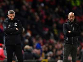 Solskjaer seeks spirit of PSG as Man Utd prepare to face Man City. AFP