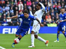 Ulloa (L) is wanted by Swansea. AFP