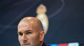 Zidane's son has claimed that his father could make an imminent return to football. AFP