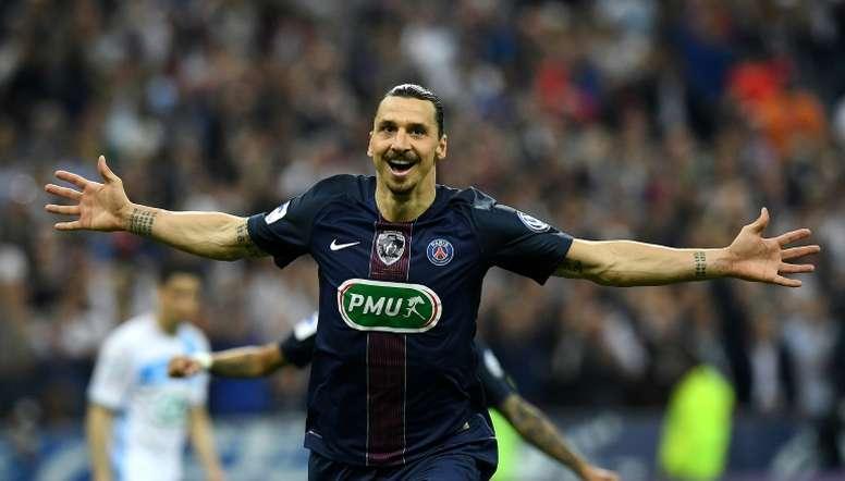 VIDEO: Hat-trick heroes: Ibrahimovic v St Etienne. AFP